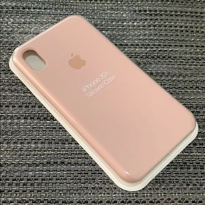 Original Liquid silicone Case iPhone XR PinkSand